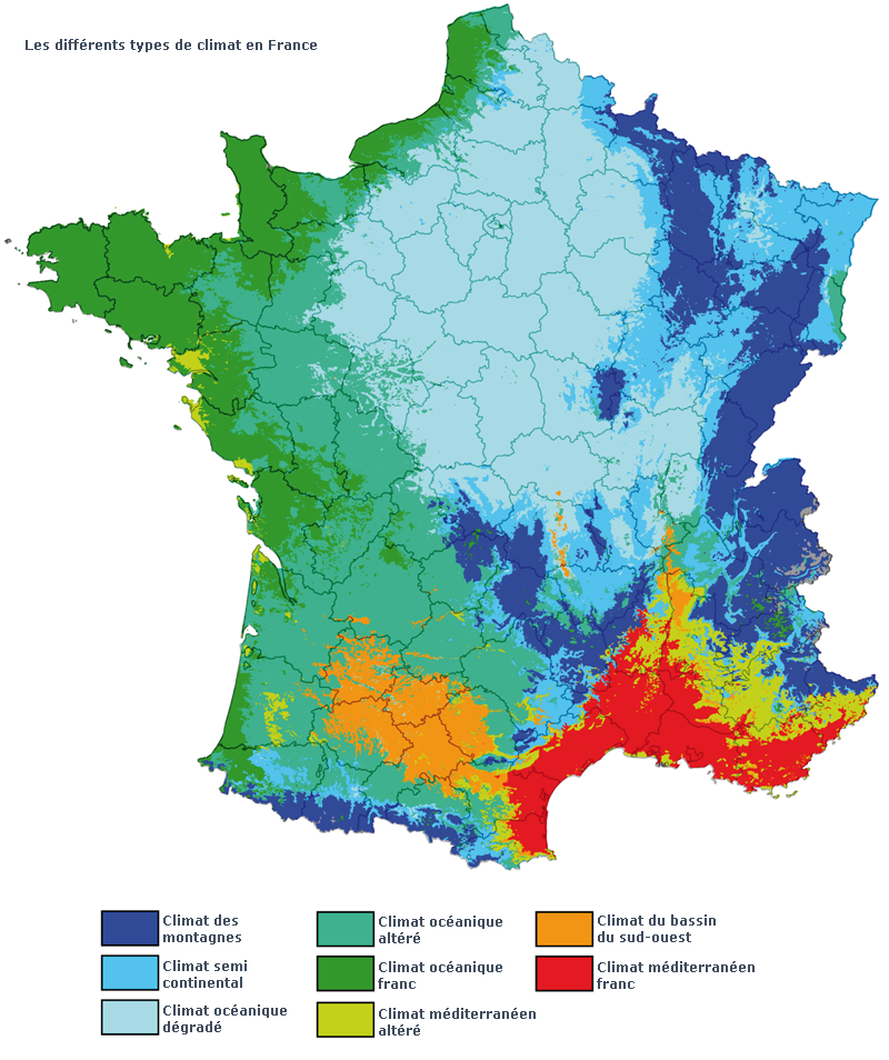 Meteo chailles - 2010-2015